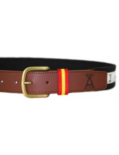 Arenal de Sevilla Belt - Black and White