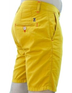 Tile Shorts - Mustard Yellow