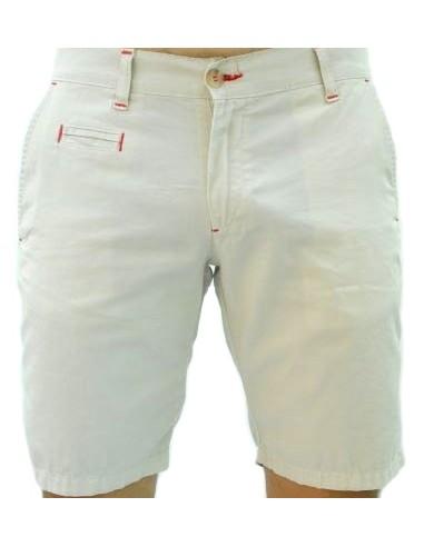 Pantalón Corto Sport de Caballero - Beige