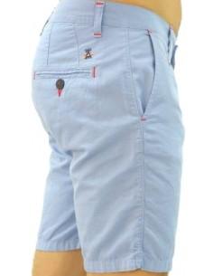 Pantalón Corto Sport de Caballero - Celeste