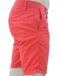 Pantalón Corto Sport de Caballero - Rojo