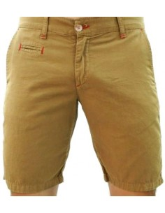 Tile Shorts - Camel
