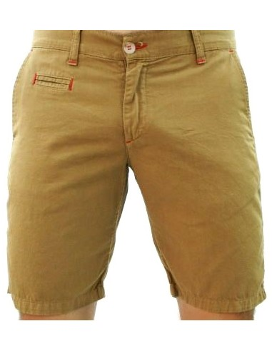Tile Shorts - Camel