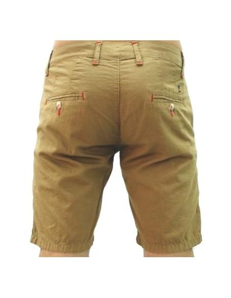 Pantalón Corto Sport de Caballero - Camel