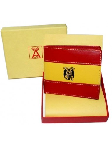 San Juan Eagle Spanish Flag Wallet