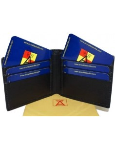 Spanish Flag Details Wallet - Black