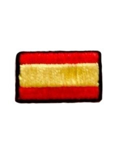Embroidered patch Flag Spain Mini
