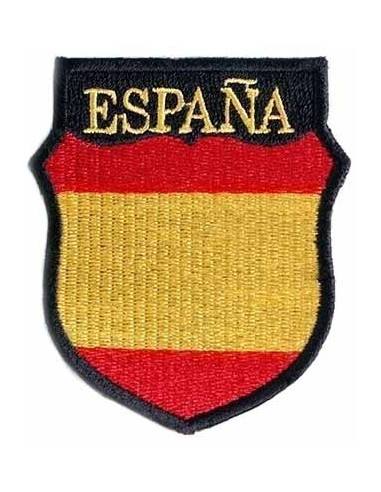 Blue division spanish patch