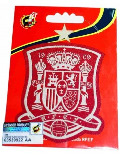 Spanish Selection Patch - Red and White