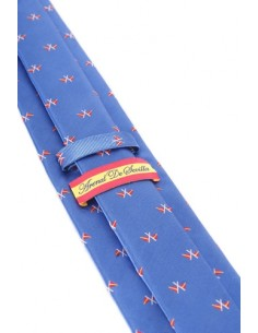 Nautical Flags Tie - Blue