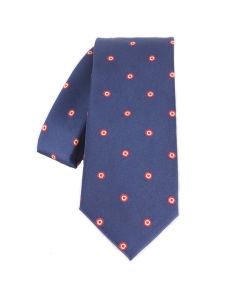 Rosette Tie - Navy Blue