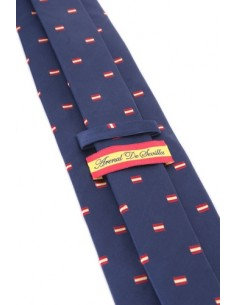 Spanish Flag Tie - Navy Blue