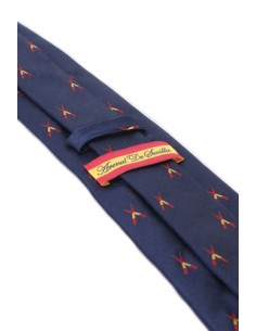 Banderillas Tie - Navy Blue