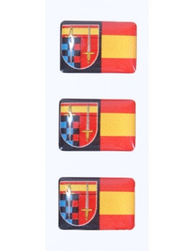 Spanish Reservists Flag Stickers