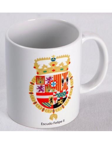 Taza Escudo Felipe II