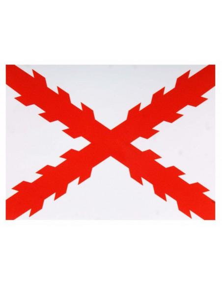Sticker Cross Burgundy