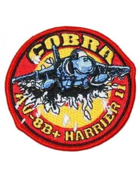 Embroidered patch Patrol Cobra AV 8B Harrier II