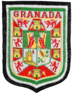 Termo-Adhesivo Shield embroidered City of Granada