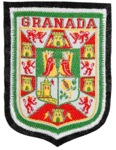 Escudo Termo-Adhesivo Bordado Ciudad de Granada