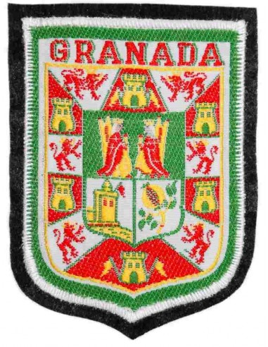 Granada Emblem Embroidered Patch