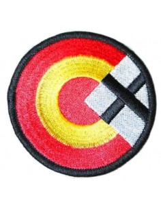 Spain Rosette and San Andrés Cross Patch