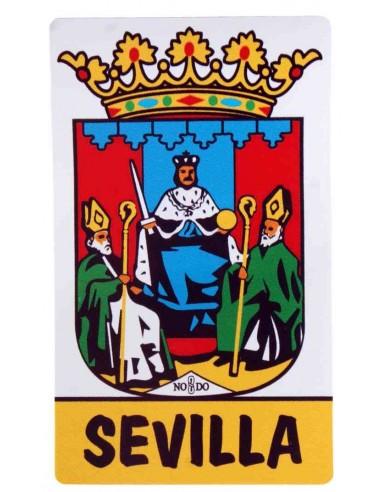 Pegatina con el Escudo de Sevilla