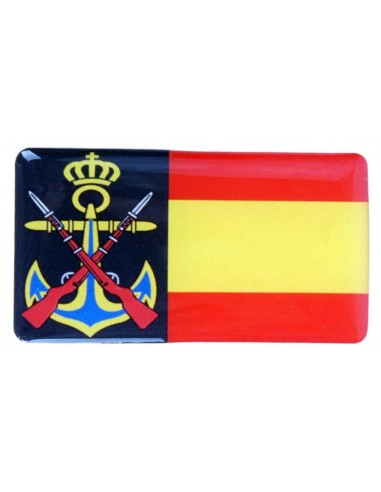Spanish Armada Flag Sticker