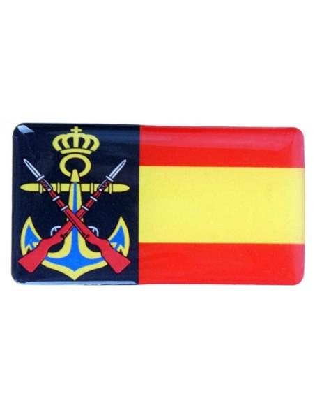Armada y Bandera España Relieve