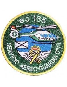 Helicopter Civil Guard Patch