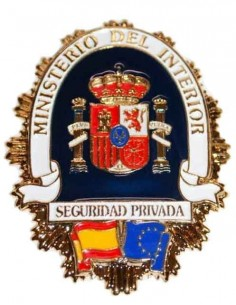 Placa Seguridad Privada