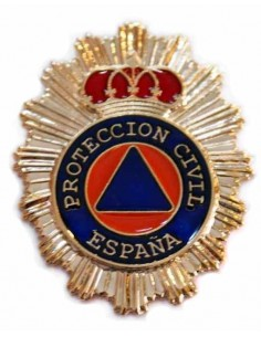 Spanish Civil Protection Badge