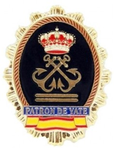 Yatch Captain Badge
