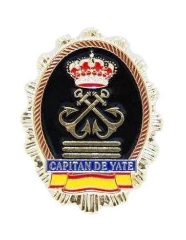 Placa Capitán de Yate