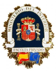 Spanish Private Escort Badge