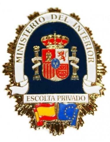 Spanish Private Escort Badge