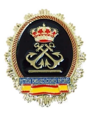 Ship Captain Badge