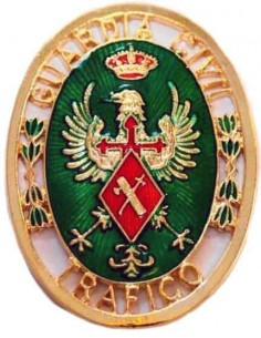 Spanish Traffic Civil Guard Badge