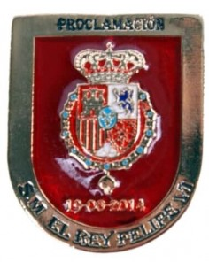 Felipe VI Proclamation Badge