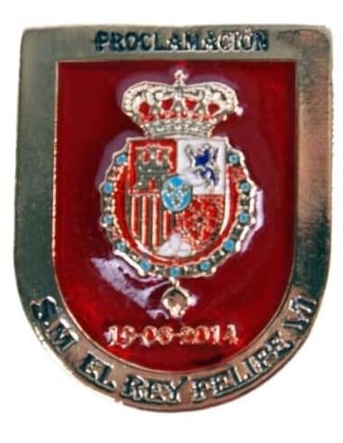 Felipe VI Proclamation Badge