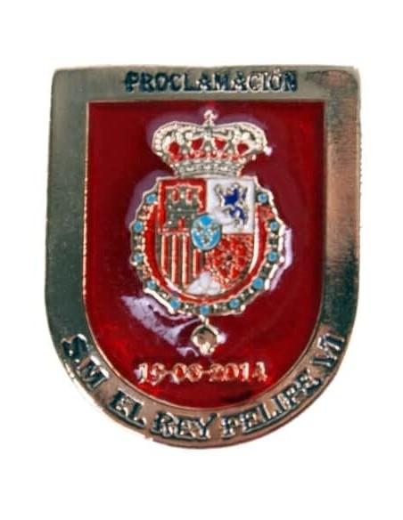 Distintivo de la Proclamación de Felipe VI