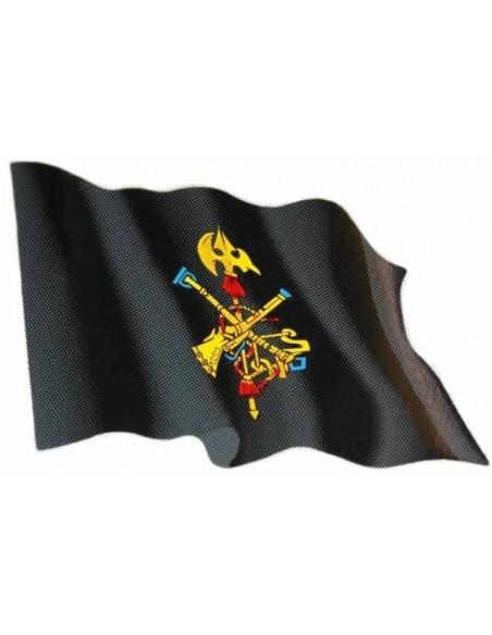 Sticker Waving Flag Legion Medium