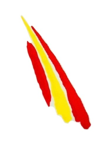 Spanish Flag Spots Sticker