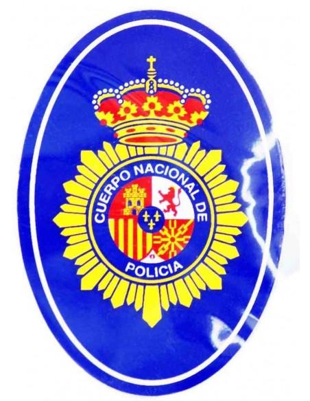 Pegatina Cuerpo Nacional de Policía Ovalada