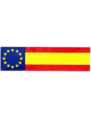 European Union Spanish Flag Sticker