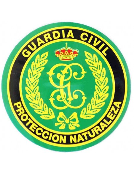 Pegatina Guardia Civil Protección Naturaleza