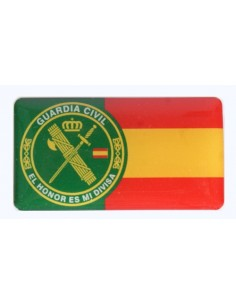 Spanish Civil Guard Flag Sticker