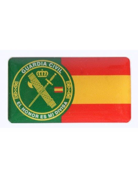 Pegatina Guardia Civil-España Relieve