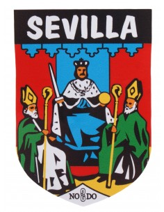 Sticker with Shield Seville