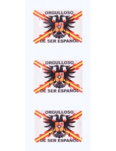 Orgulloso de Ser Español Flag Stickers