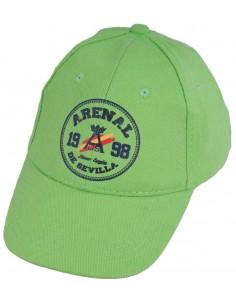 Gorra de Niño España en Verde Pistacho